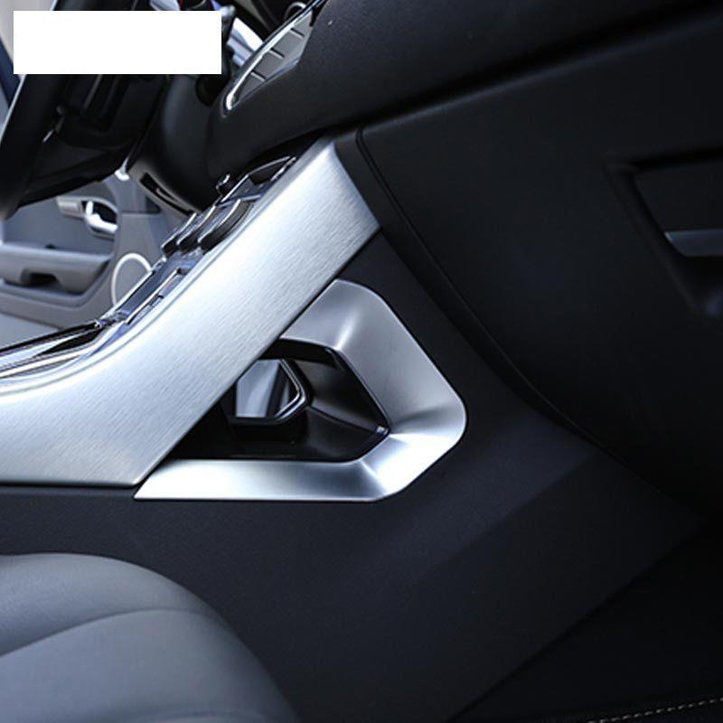 2pcs Chrome Central Decoration U Shape Frame Trim For Range Rover Evoque 2012 18 Range Rover Evoque Range Rover Evoque 2016 Range Rover