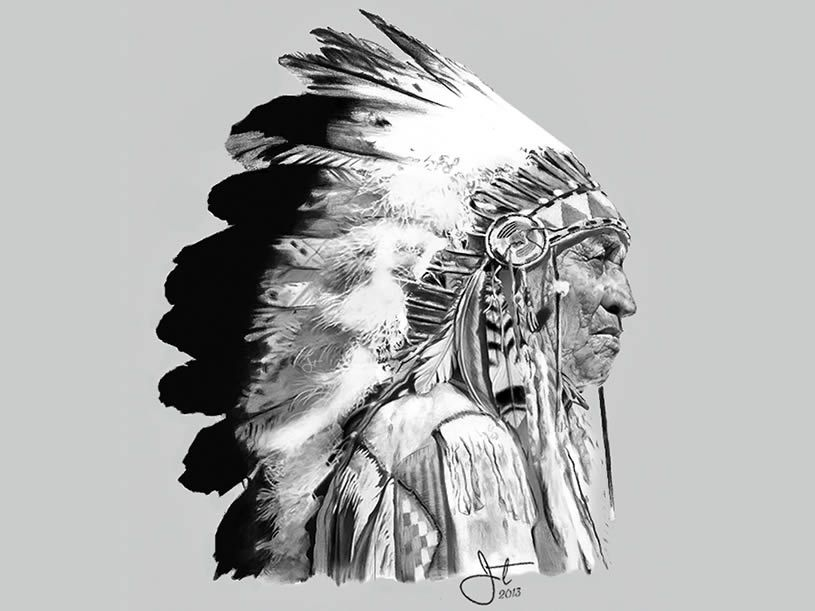 Getting A Native American Indian Tattoo The Trouble With - 815×611