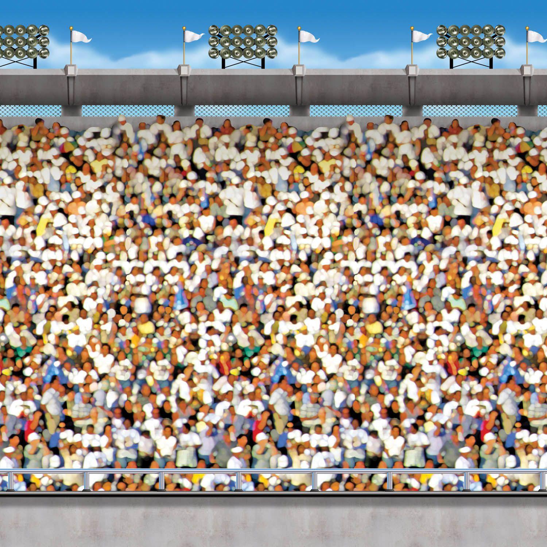 Dekofolie Stadion Tribune 9 M Lang 120 Cm Hoch Party