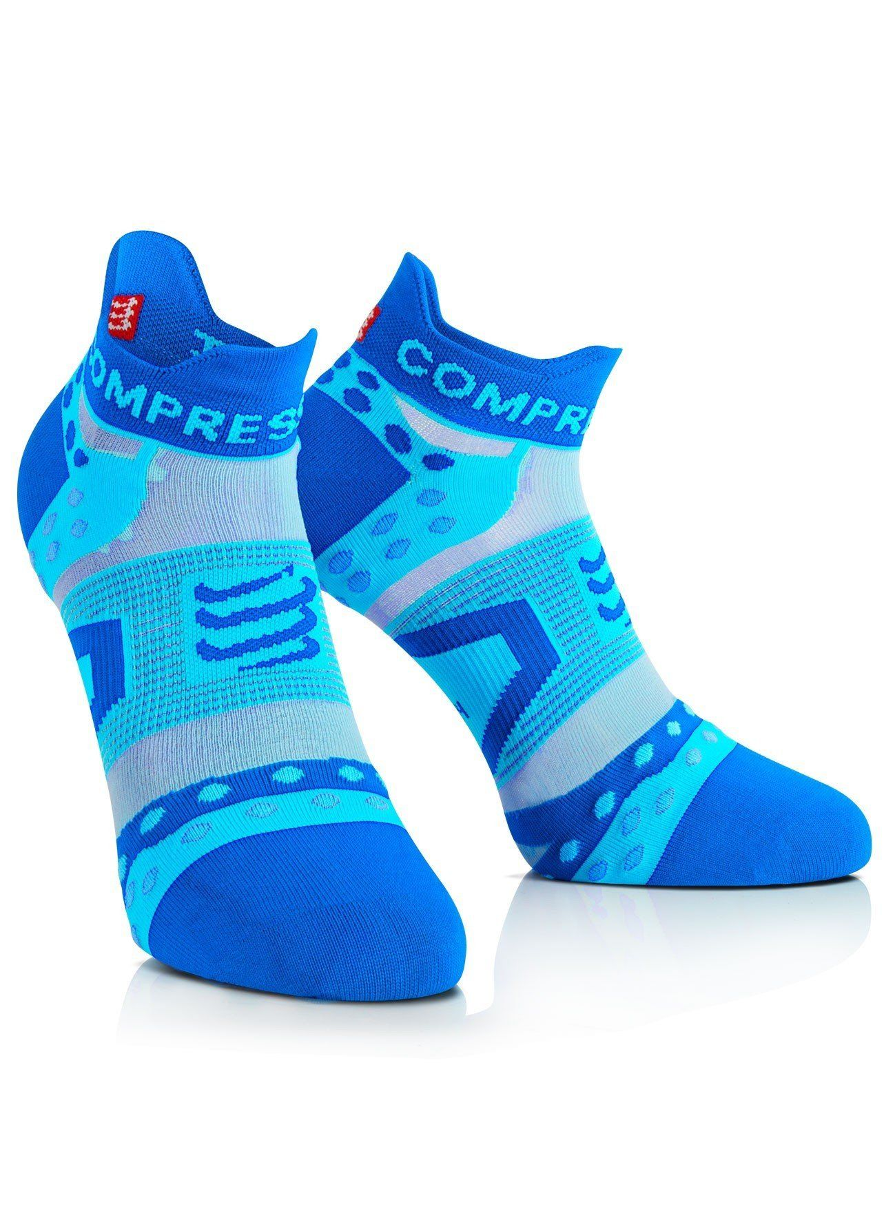 Eurosock Marathon Low Cut Running Socks Shields Feet from Harsh Impact Elastic Arch Band Support EU200