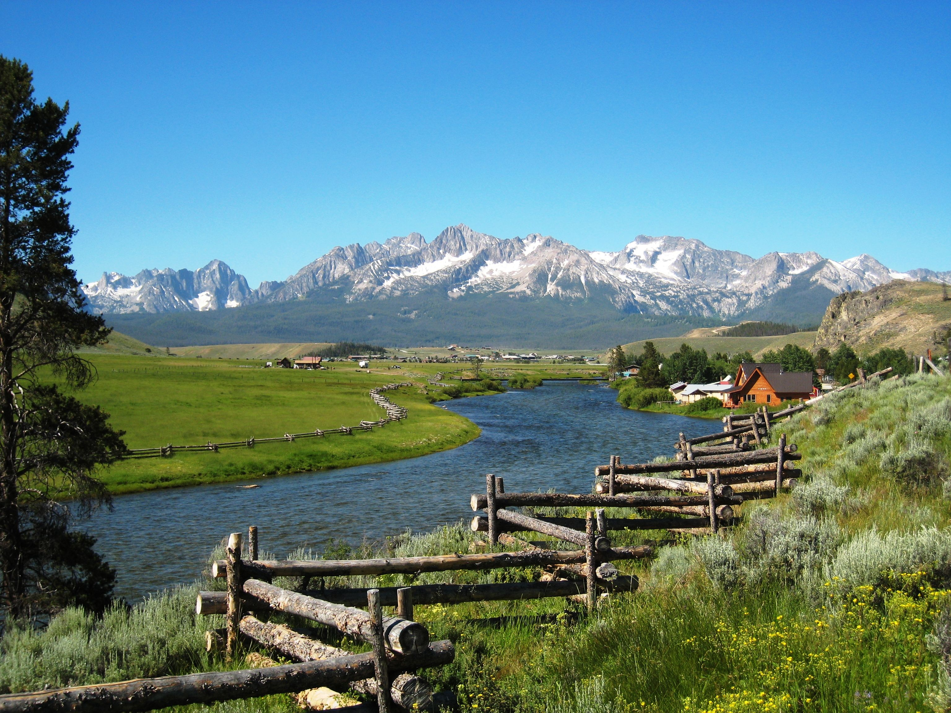 Stanley, ID | Idaho travel, Idaho vacation, Sawtooth mountains