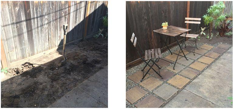 DIY Patio Concrete paver patio, Patio, Diy patio