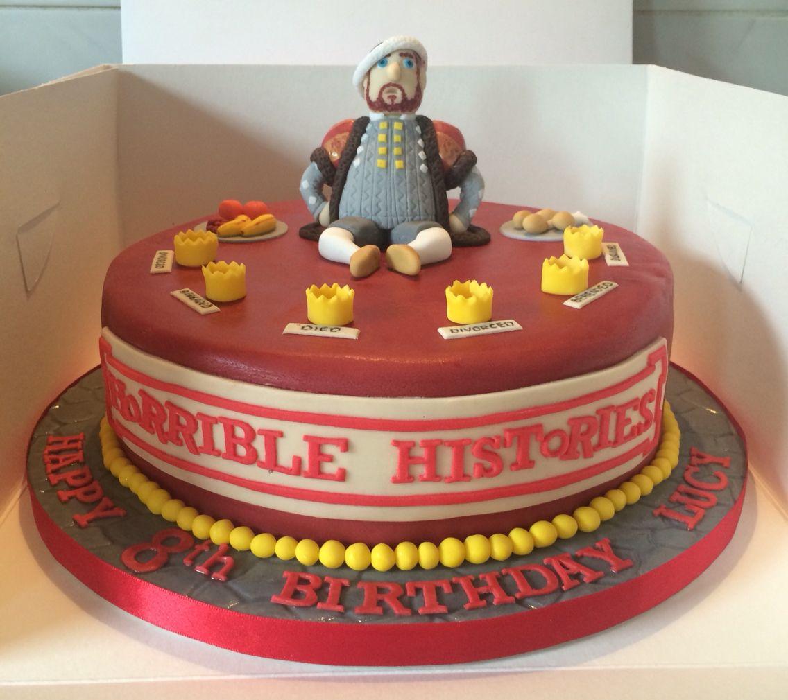 Horrible Histories Birthday Cake