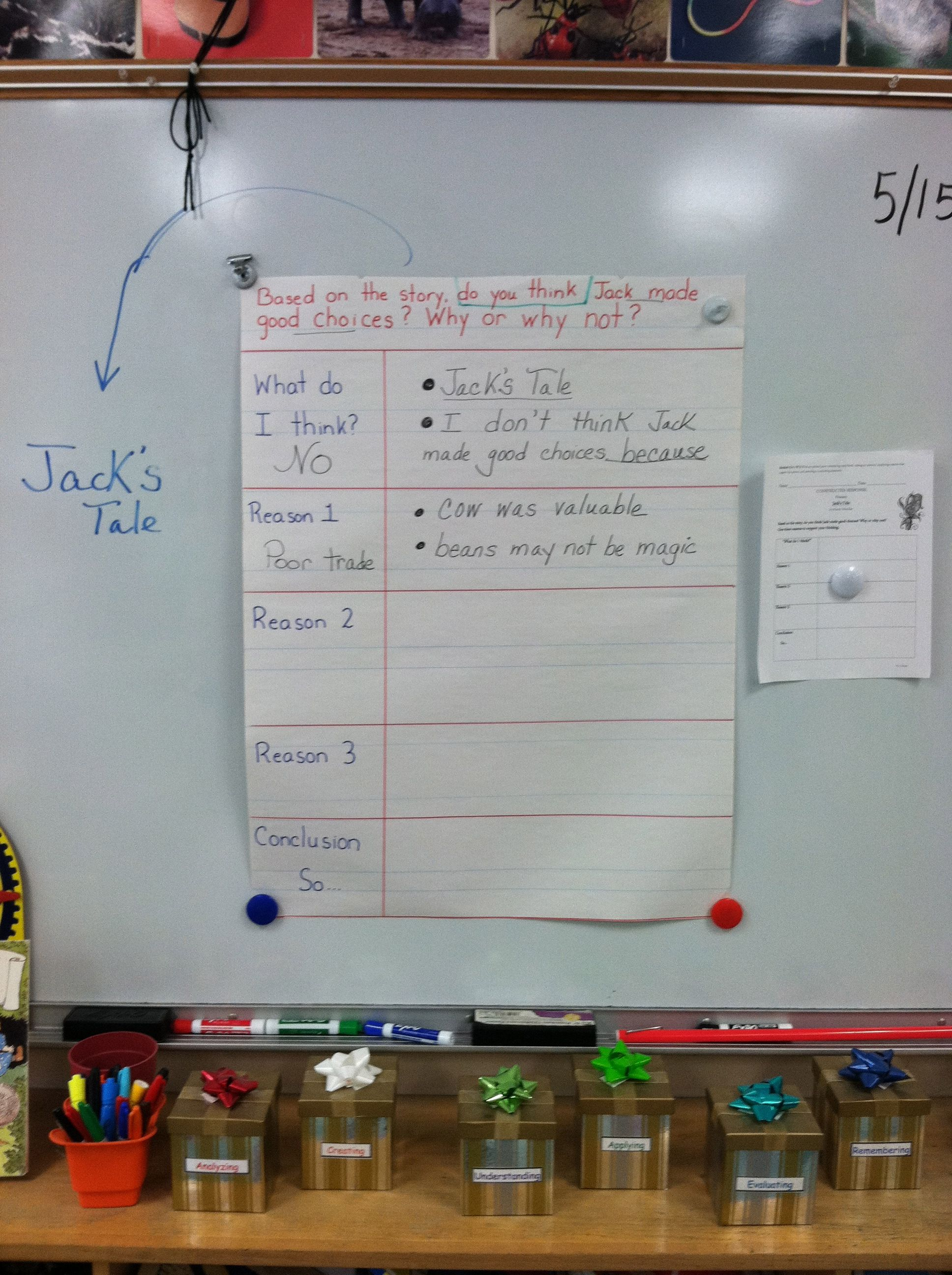 2nd Grade Two Column Notes