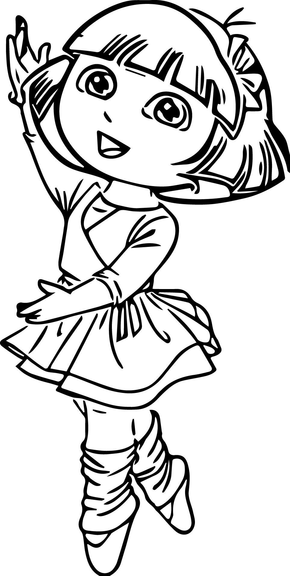 ballerina coloring pages coloringsuite