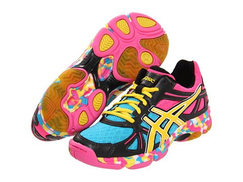 c6f5b3a5b551 ASICS GEL-Flashpoint™ Black Neon Yellow Hot Pink - Zappos.com Free Shipping  BOTH Ways........want these