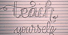 Photo of Teach Yourself How to Hand Letter – Morgan Manages Mommyhood