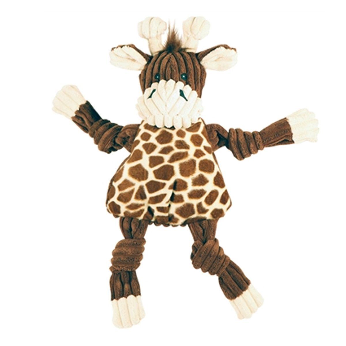 Hugglehounds Knotties Dog Toy Referee Bunny Dog Toys Soft Toy