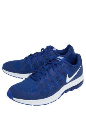 new product f0fe1 37e6e ... wholesale tênis nike air max dynasty msl azul com perfuros logo da  marca localizado e 5f46f