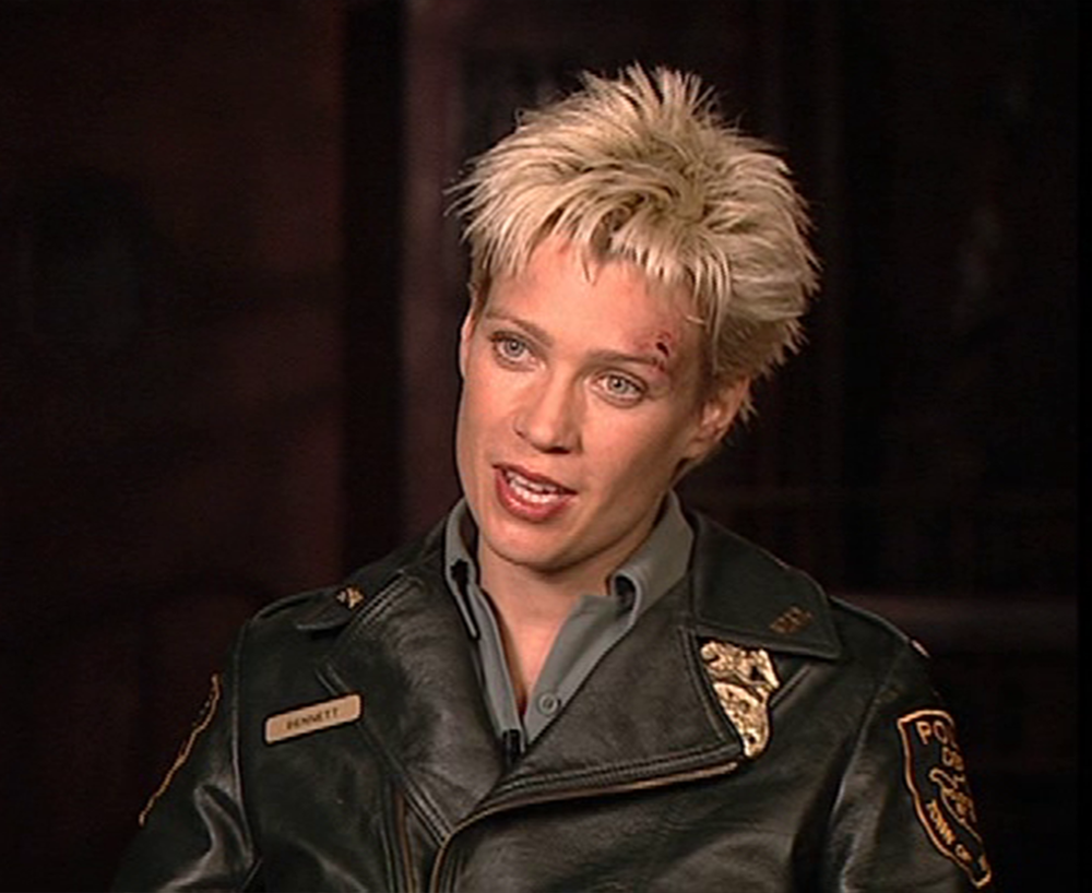 Cybil Bennett Is A Character In The Silent Hill Film She Is A Police Officer