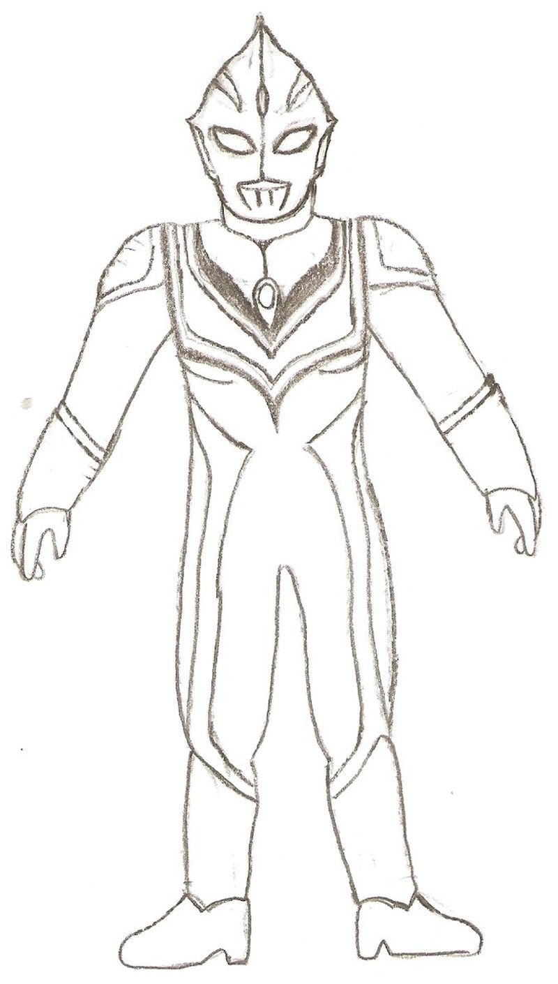 Ultraman Zero Coloring Pages Print For Those Of You Who Are Movie Lovers Who Have A Super Hero Genre From Japan You Must Have Heard The Ultraman Film Ultrama [ 1410 x 800 Pixel ]