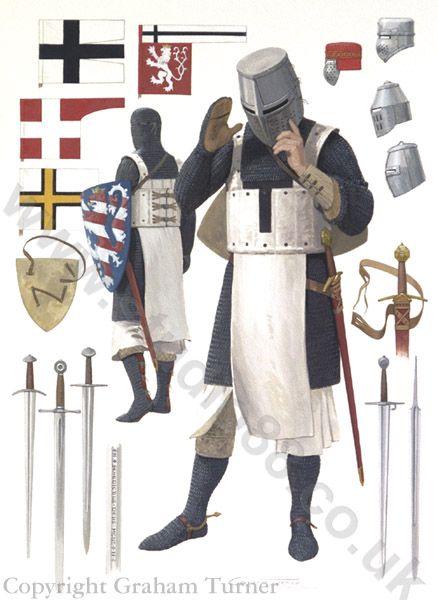 Teutonic Knight, 13th Century