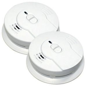 Kidde Code One 10 Year Sealed Battery Smoke Detector With Ionization Sensor 2 Pack 21028744 In 2020 Smoke Alarms Battery Operated Green Led Lights