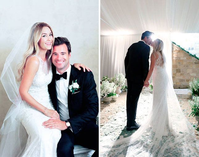 See Lauren Conrad S Wedding Dress More Pics From Her I Dos Lauren Conrad Wedding Hair Lauren Conrad Wedding Dress Lauren Conrad Wedding