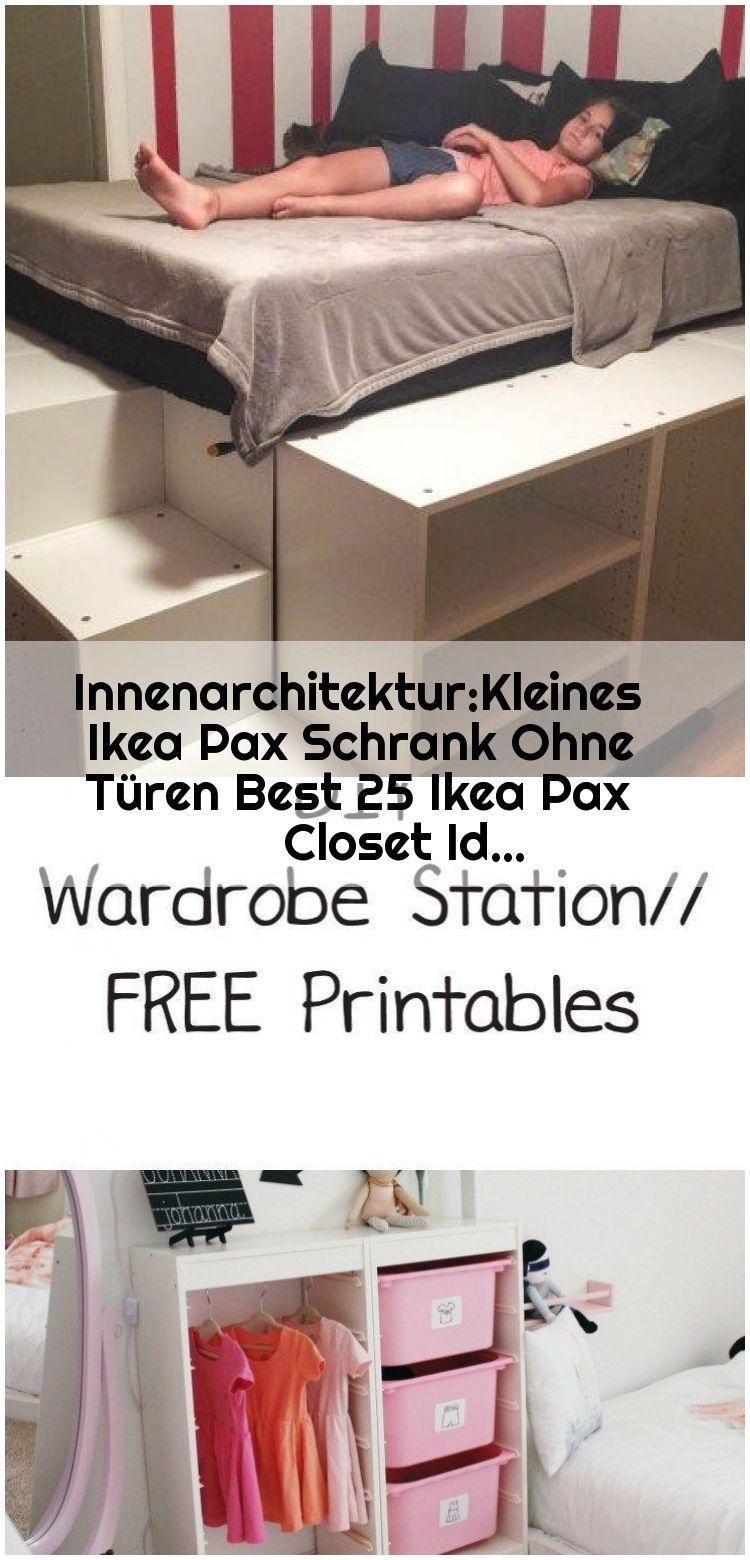 Innenarchitektur Kleines Ikea Pax Schrank Ohne Turen Best 25 Ikea