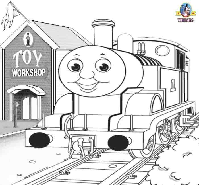 Henry the Train Colouring Pages page 2  Coloriages Thomas le