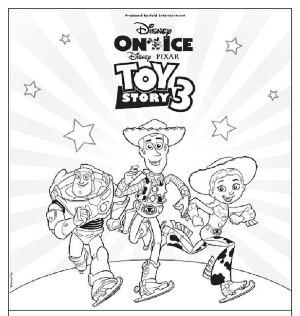 Toy Story Movie Coloring Pages