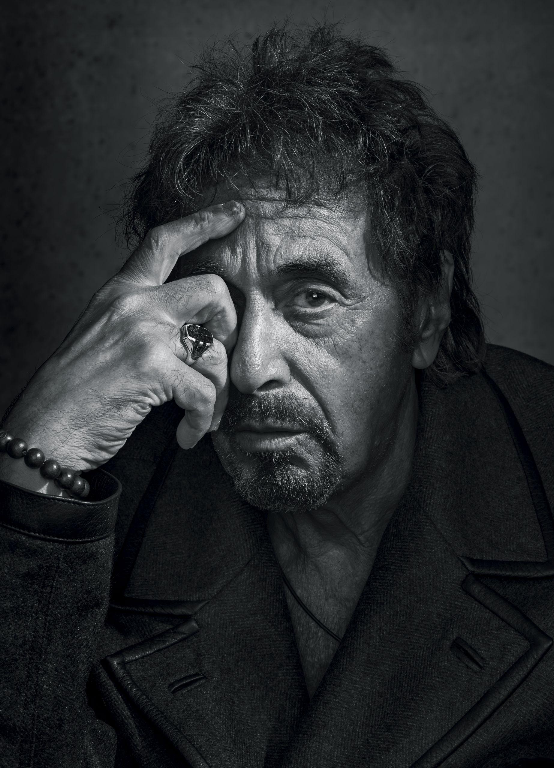 Новые интервью Аль Пачино в 2019 г. | Аль пачино, Портреты ...