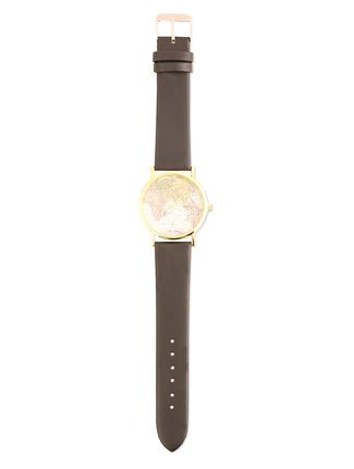 Black world map watch map watch fiestas and black buy style fiesta black world map watch online limeroad gumiabroncs Gallery
