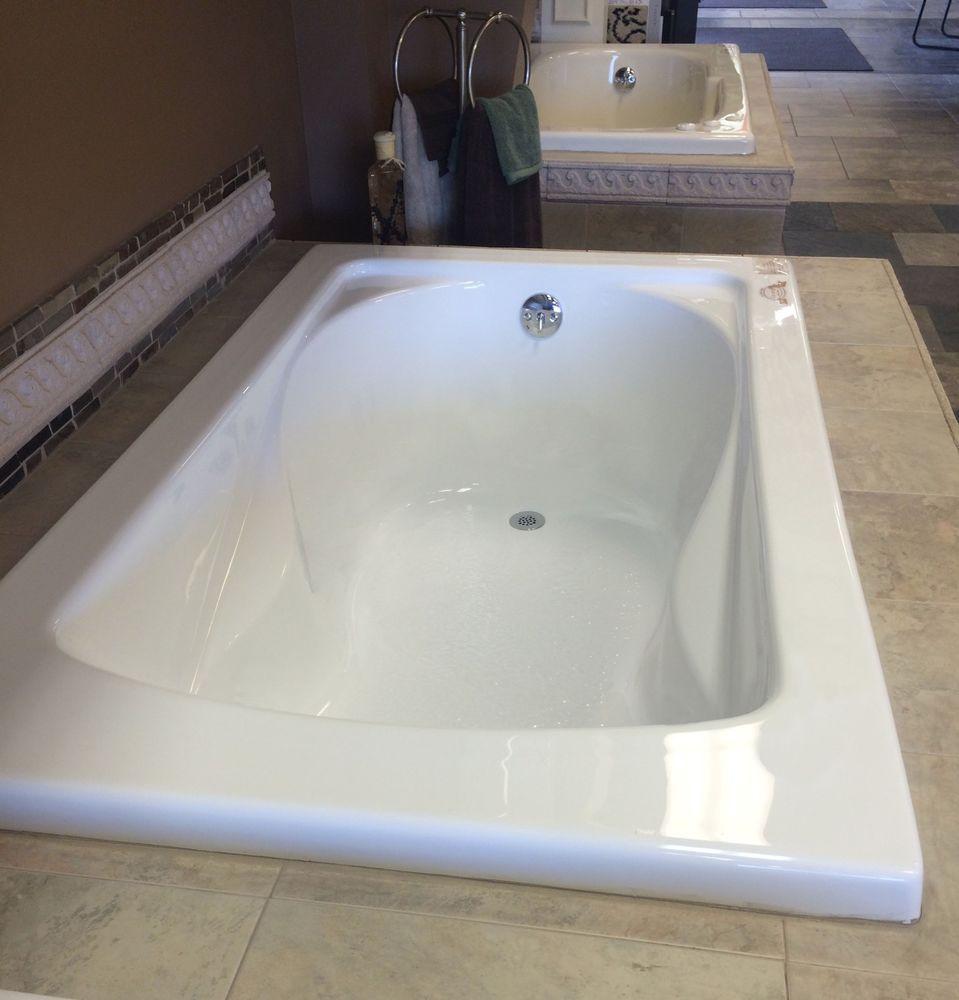 Carver Tubs SR 6036 White Soaker Tub 60 X 36 Drop In Bathtub #CarverTubs