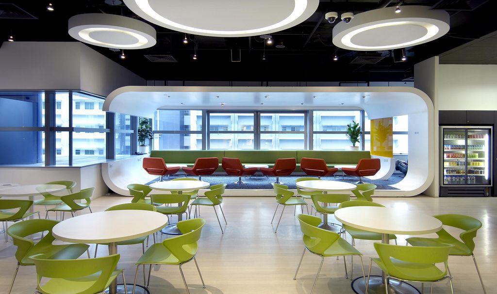 Creative office design by M Moser Associates | Office designs ...