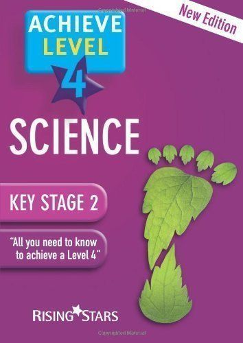 Achieve: Science Revision- Level 4: 1 (Achieve Level 4) Revised Edition by various published by Rising Stars UK Ltd (2008) http://www.newlimitededition.com/achieve-science-revision-level-4-1-achieve-level-4-revised-edition-by-various-published-by-rising-stars-uk-ltd-2008/