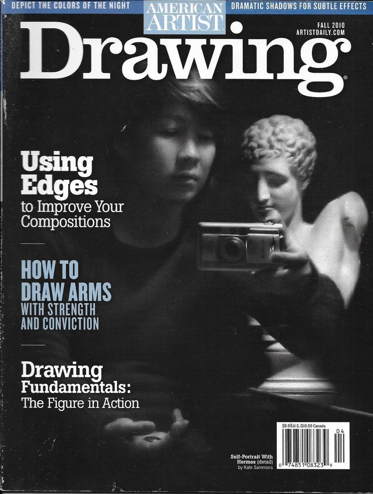 American Artist Drawing Magazine Using Edges Draw Arms The Figure In Action American Artists Composition Drawing Arm Drawing