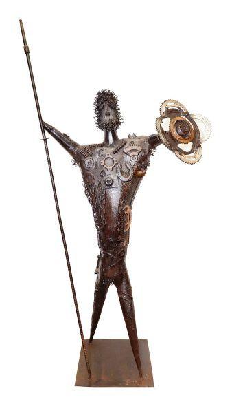 Resultado de imagem para esculturas de arte abstrata sucata