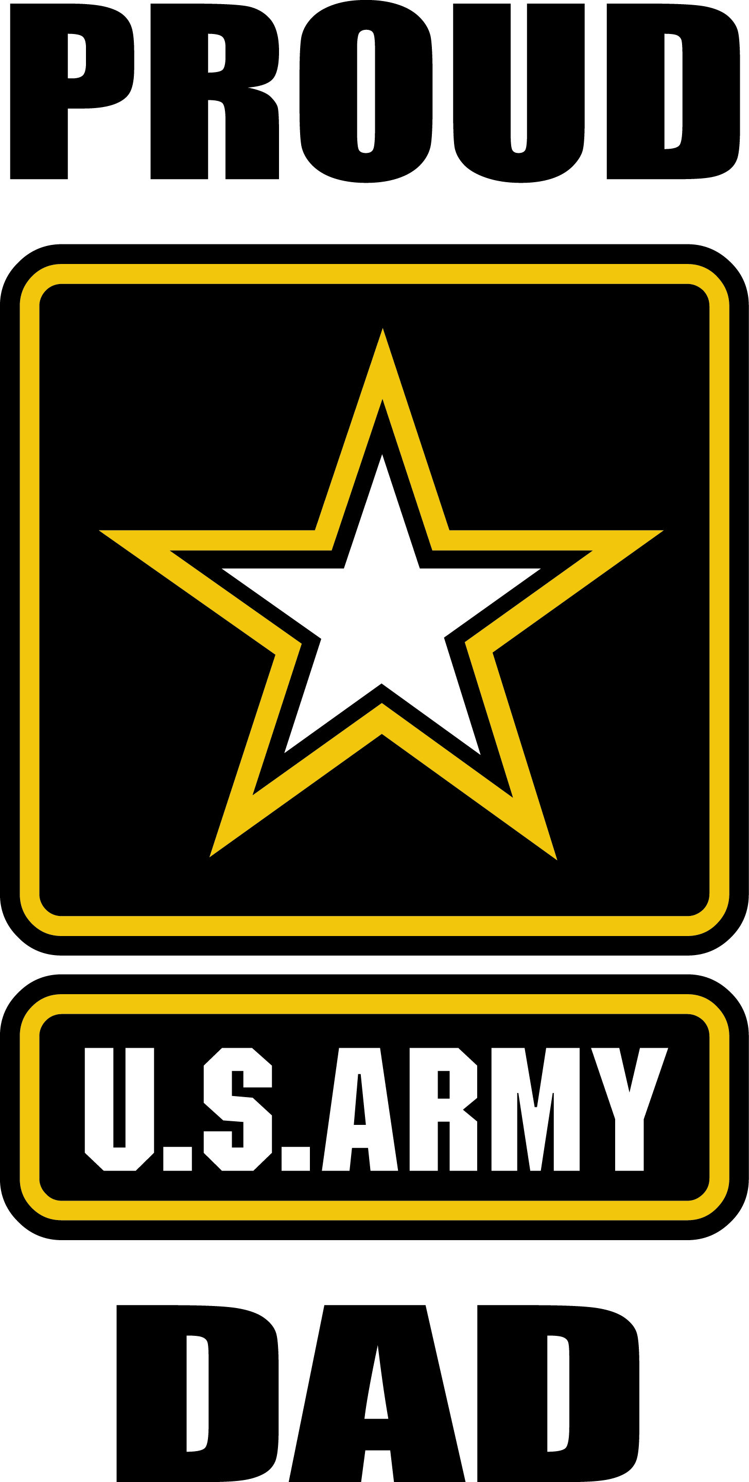 PROUD ARMY MOM United States American Soldier Military VInyl Sticker Decal