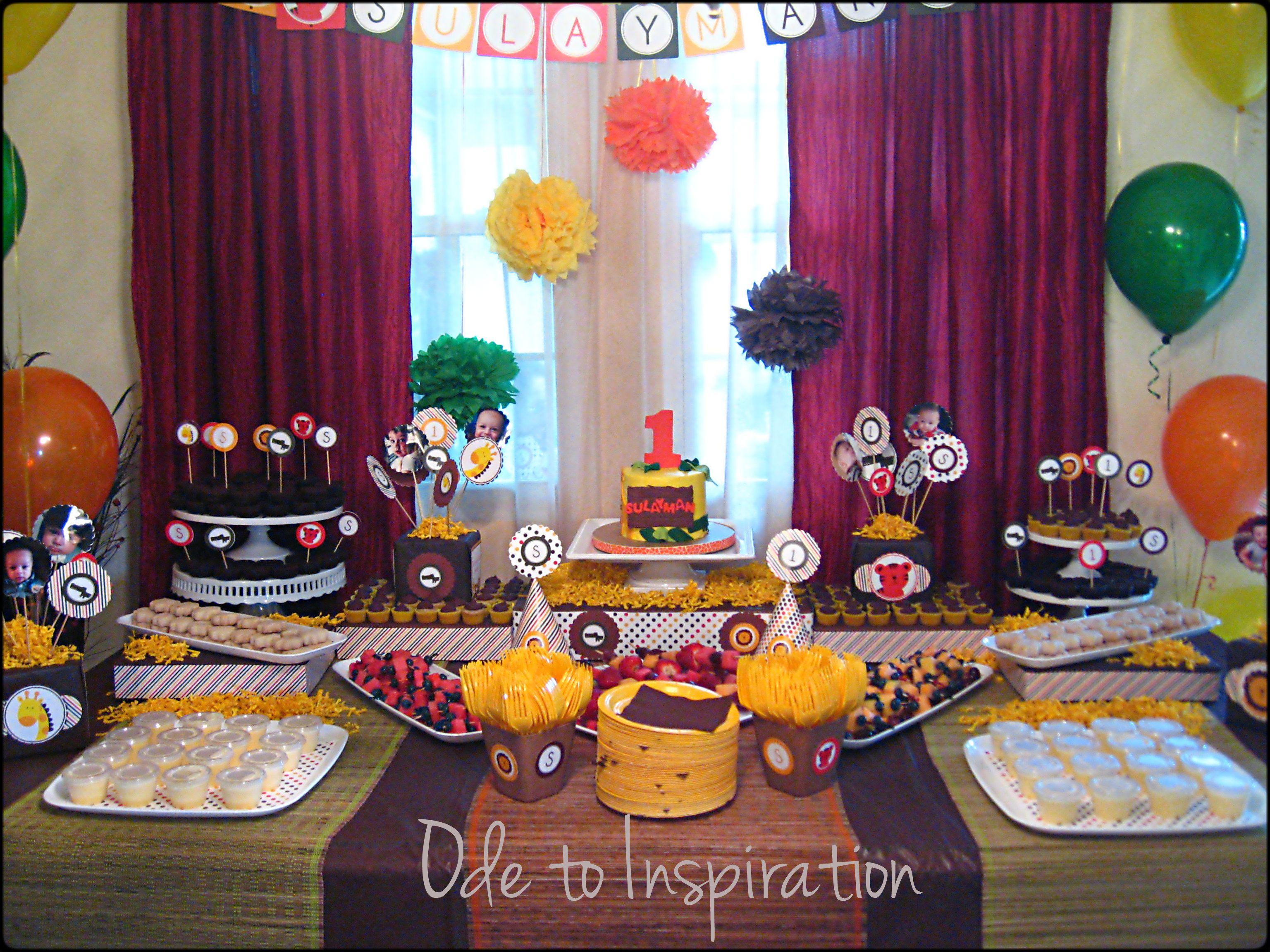 Jungle Theme Birthday Cake Jungle theme birthday Jungle theme and