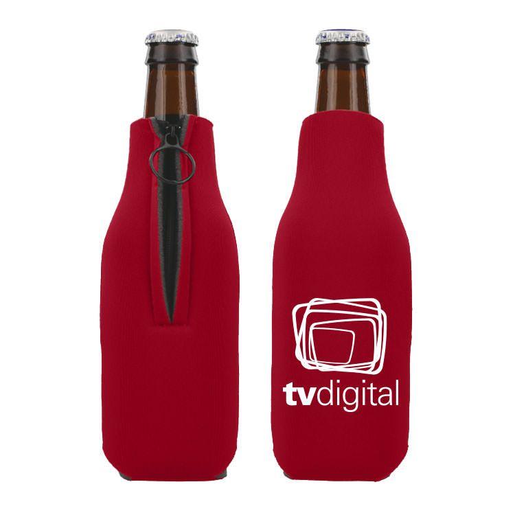 Foam Zipper Bottle Cooler