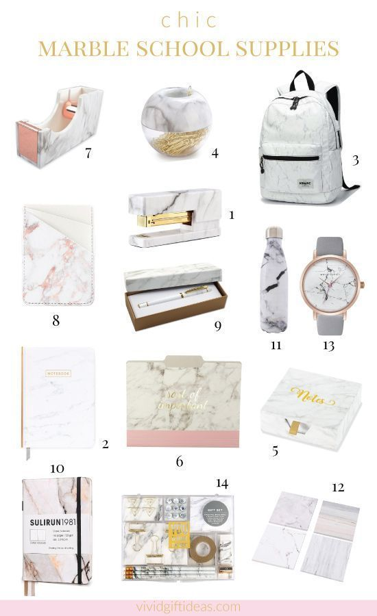 14 Marble School Supplies - Vivid's Gift Ideas - Gifts for Everyone,  14 Marble School Supplies - Vivid's Gift Ideas - Gifts for Everyone,