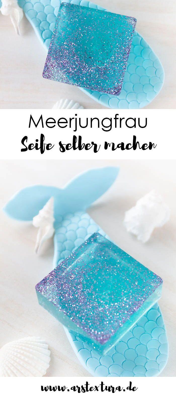 Photo of Meerjungfrau Seife selber machen   ars textura – DIY-Blog