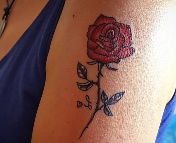 24302f9b2 Rose Tattoo Designs with Meanings - 30 Ideas ❖❖❖ #designs #ideas #meanings # tattoo ❖❖❖ Rose Tattoo has four basic meaning: love . beauty . courage and  ...