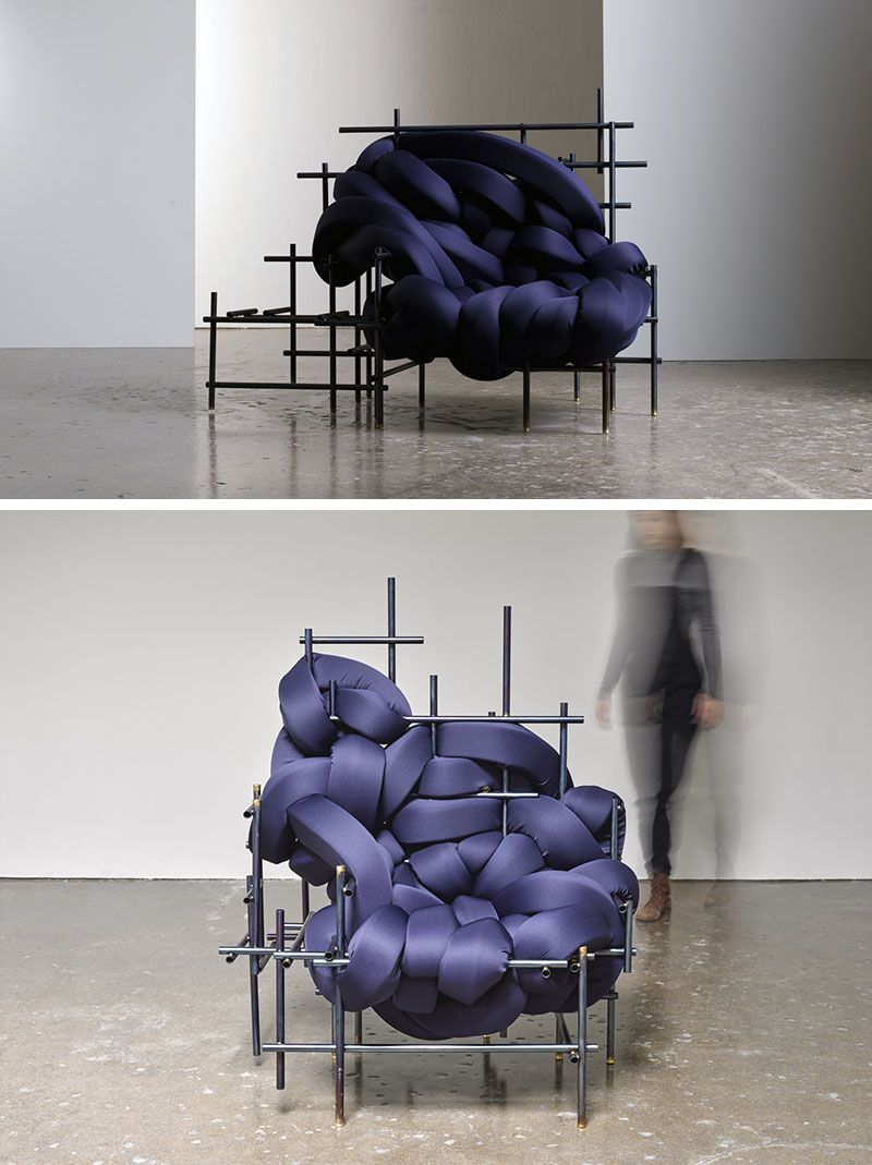 American Designer Evan Fay, Has Created The Lawless Chair, A Sculptural  Oversized Seat Made