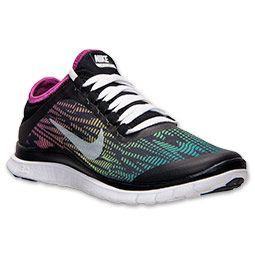 Femmes Nike Free 3.0 V5 Impression Baskets De Course De La Ligne Darrivée