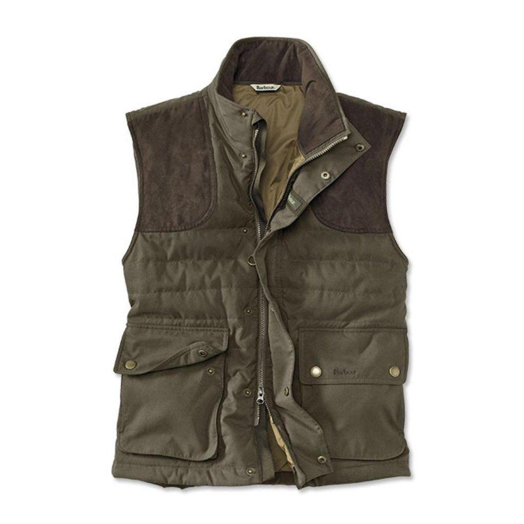 Barbour® Olive Avocet Quilted Vest