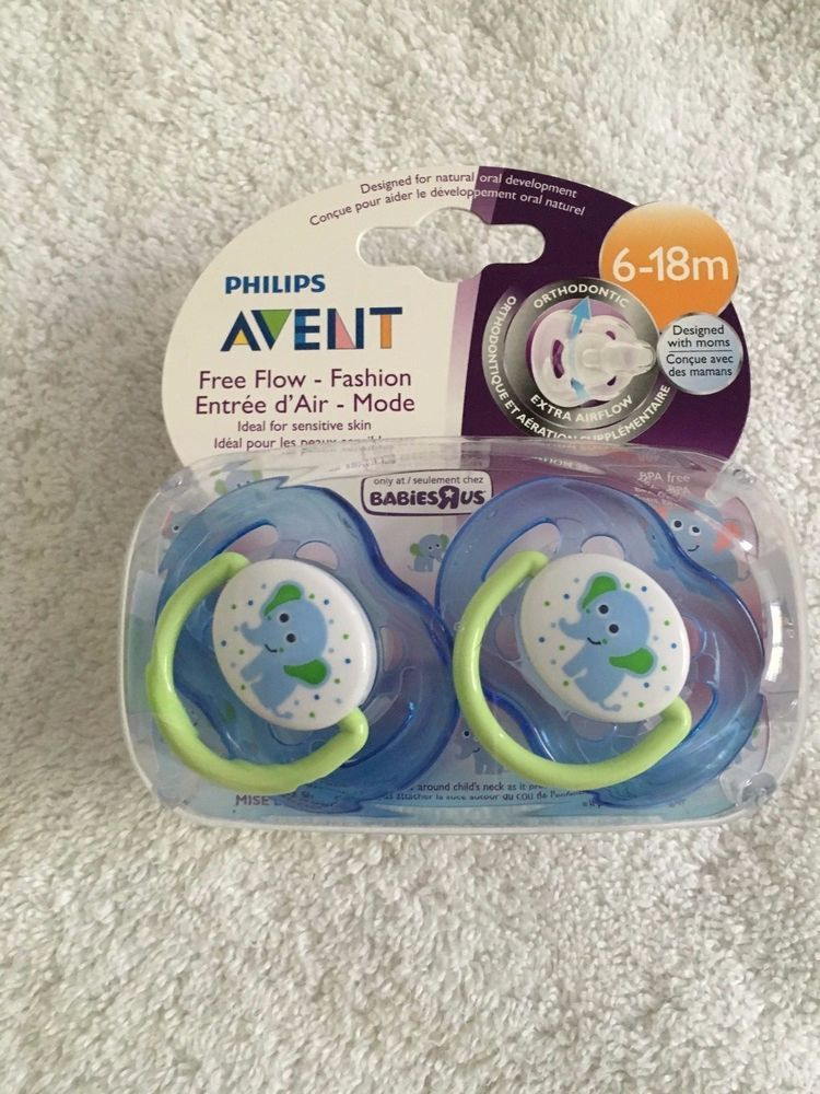 New New 6-18 months Free Shipping The First Years GumDrop Infant Pacifier