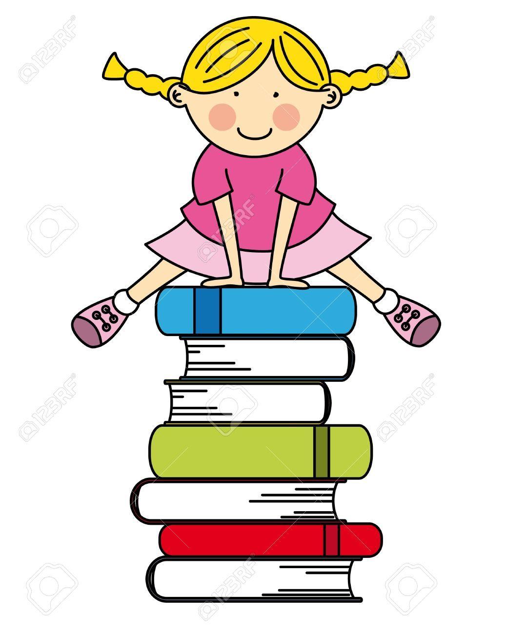 dibujos de niños leyendo - Buscar con Google | Dibujos para niños ...
