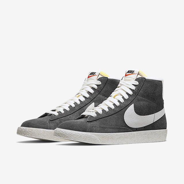 NIKE SPORTSWEAR Blazer Mid Suede Vintage - Sneakers for Women - Grey | Nike  sportswear, Sportswear and Slate