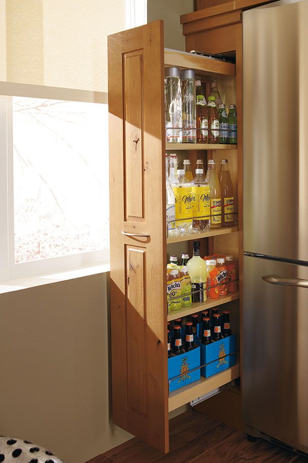 Our Pantry Cabinet Pull Out Is A Perennial Favorite Taken Full Height To Hold An Amazing Pull Out Kitchen Cabinet Pantry Cabinet Kitchen Cabinet Organization