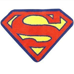 Superman Bath Rug For Our Superhero Bathroom Superhero