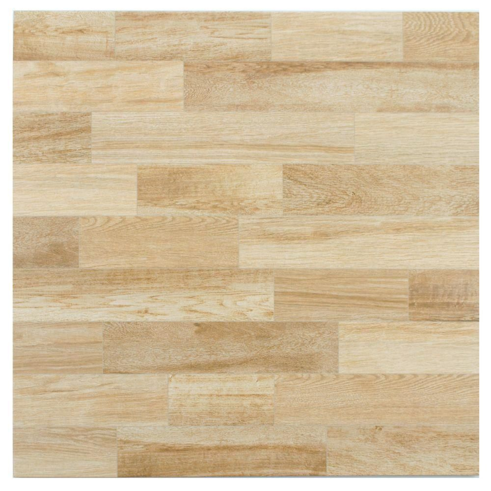 Merola Tile Alpino Haya 17-3/4 in. x 17-3/4 in. Ceramic Floor and ...