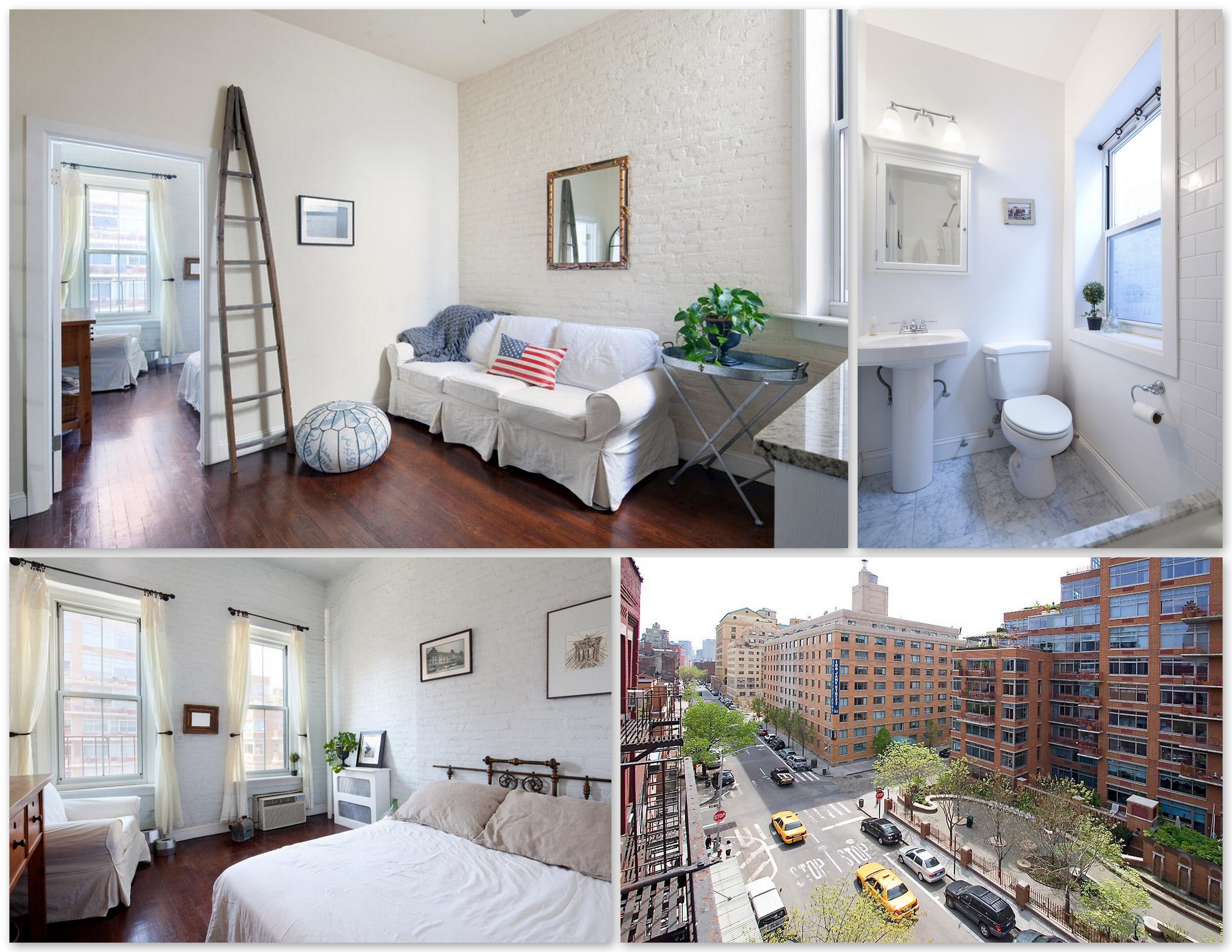 $2800 Horatio Street, West Village NYC: Sun-filled, triple ...