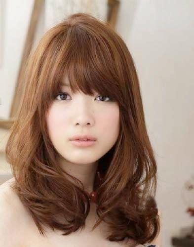 Gaya Rambut Sebahu : rambut, sebahu, Model, Rambut, Pendek, Sebahu, Korea, Medium,, Sedang,