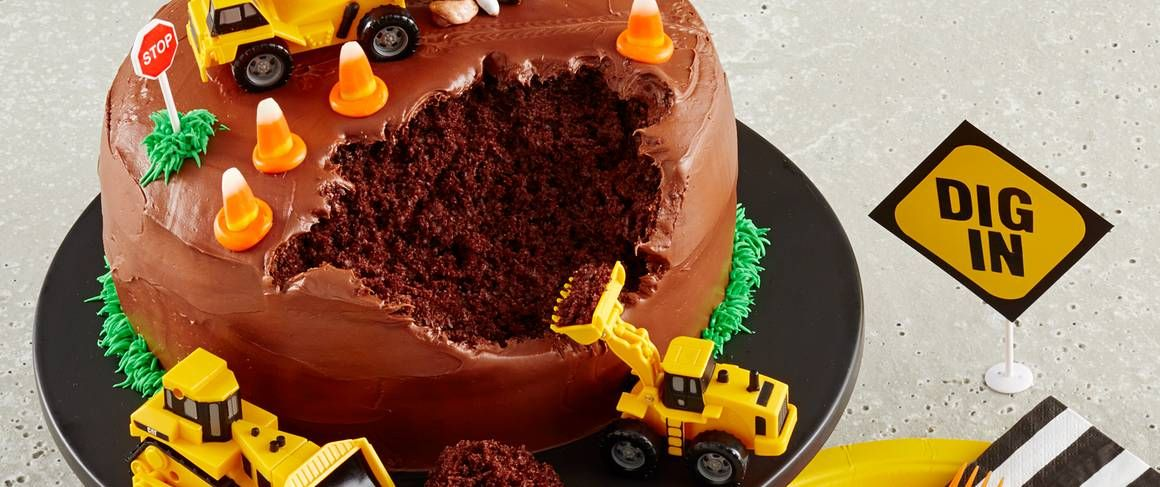 Construction Site Cake Recipe Construction Cake Birthday Cake