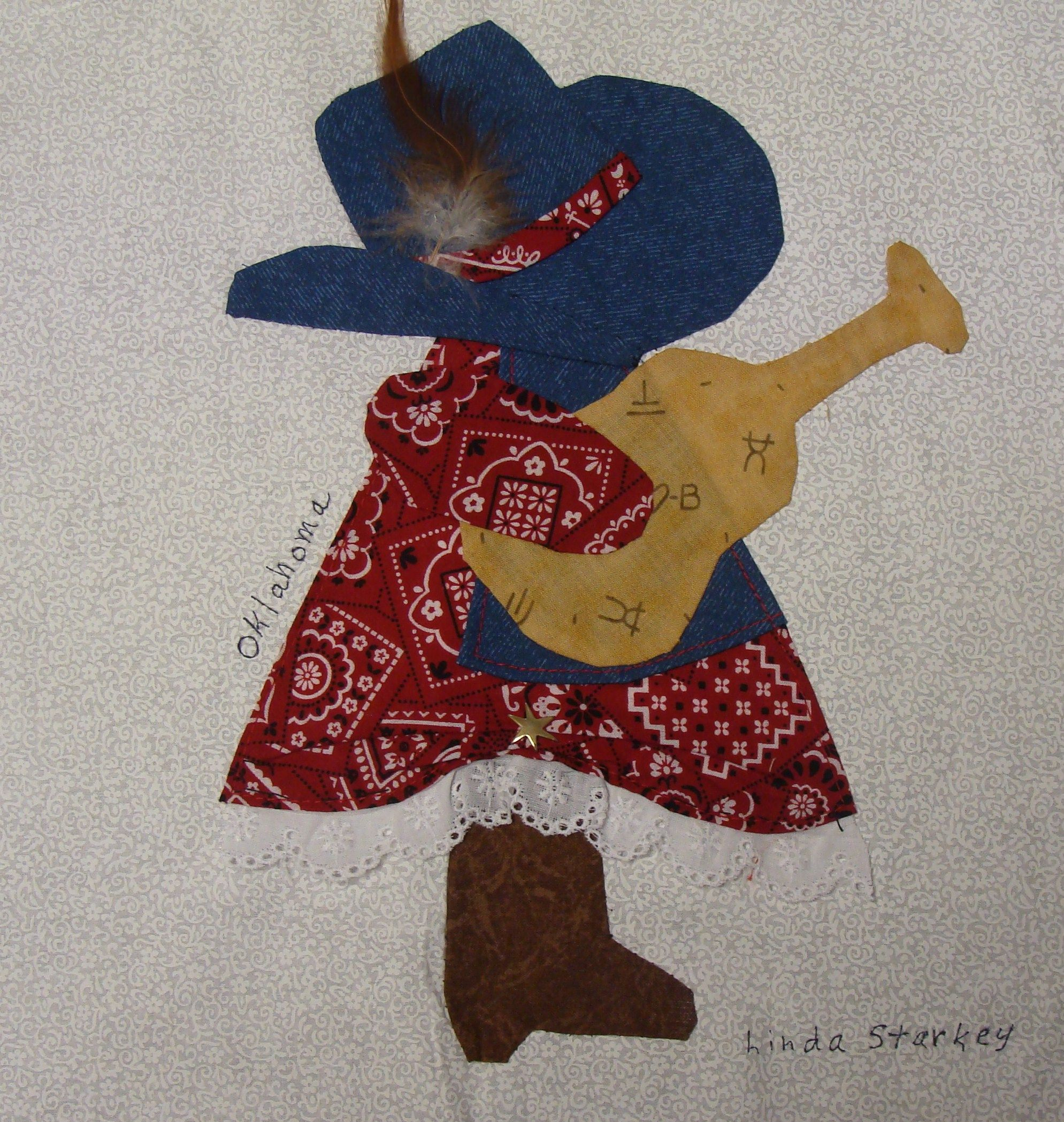 Sun bonnet sue quilt patterns free | ... Fifty Quilters of America ...