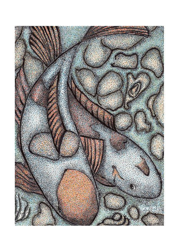 ACEO ATC of original pointillism sketch available in my etsy shop!  Please visit and have a look!    artandimages.etsy.com    Thank you for looking!