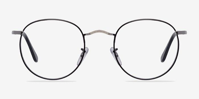 b252e7b78564 Daydream Black/Silver Metal Eyeglasses from EyeBuyDirect. Discover  exceptional style, quality, and