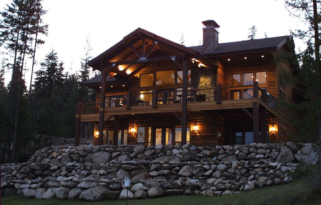 Exceptional Lodge Home #8: Amazing Lodge Home On Priest Lake Golf Course